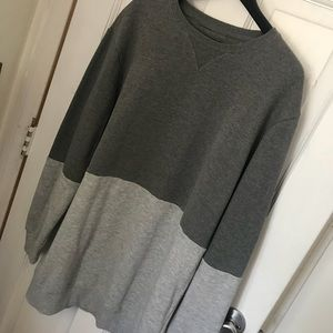 Men's gray sweater